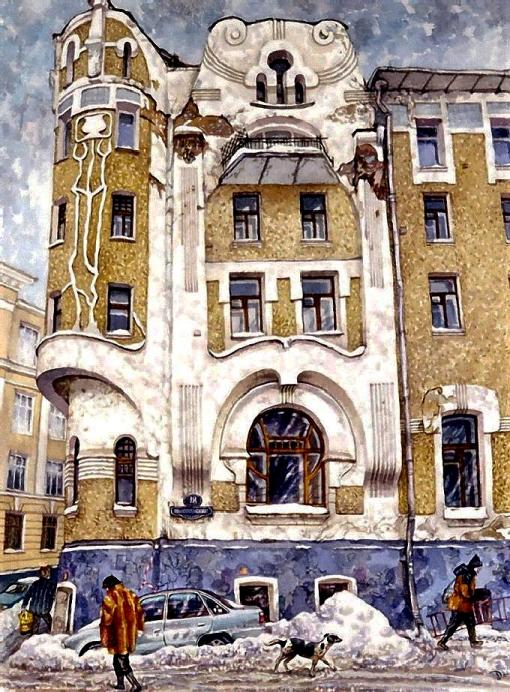 Подсосенский переулок